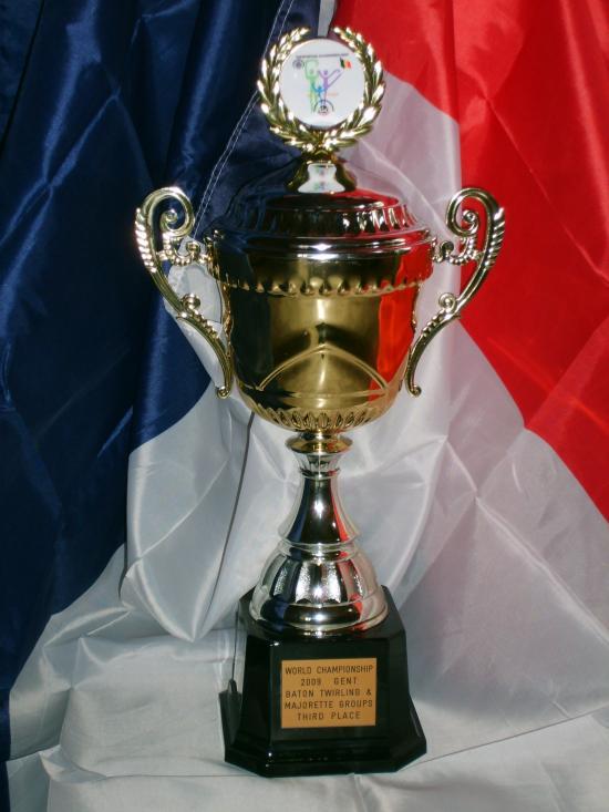Trophé de l'équipe Séniors - 3ème au Mondial